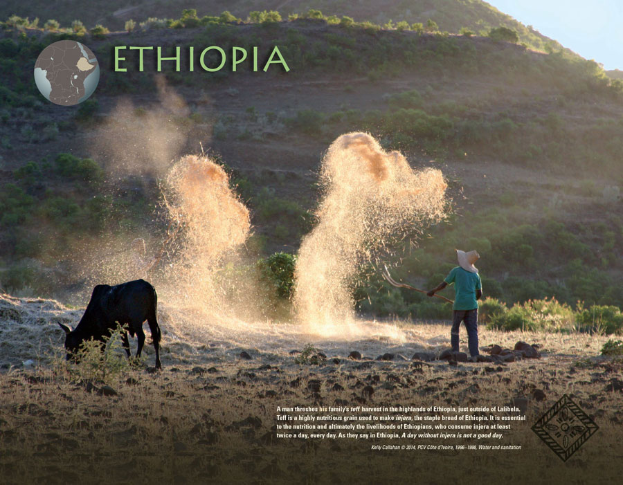 International Calendar 2016 - Ethiopia