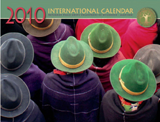 International Calendar 2010 - Ecuador