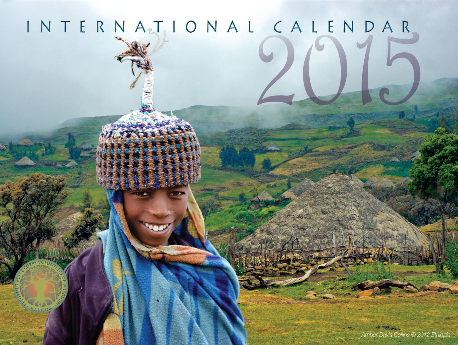 International Calendar 2015 - Ethiopia